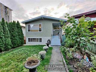 House for sale in South Vancouver, Vancouver, Vancouver East, 8017 Chester Street, 262524221 | Realtylink.org