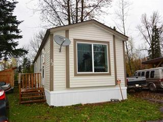 Manufactured Home for sale in Smithers - Town, Smithers, Smithers And Area, 22 2123 Riverside Drive, 262530559 | Realtylink.org