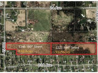 Lot for sale in Hazelmere, Surrey, South Surrey White Rock, 2246 180 Street, 262521943 | Realtylink.org