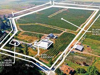 Agri-Business for sale in Durieu, Mission, Mission, 10931 Sylvester Road, 224939196 | Realtylink.org