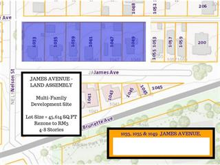Commercial Land for sale in Maillardville, Coquitlam, Coquitlam, 1033 James Avenue, 224937537   Realtylink.org