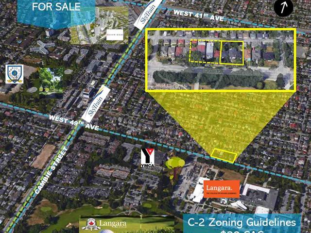 Commercial Land for sale in Oakridge VW, Vancouver, Vancouver West, 143 W 49th Avenue, 224938751   Realtylink.org