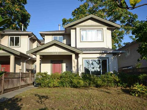 1/2 Duplex for sale in Maillardville, Coquitlam, Coquitlam, 307 Blue Mountain Street, 262430981 | Realtylink.org