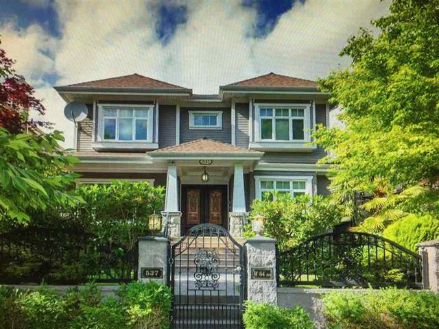 House for sale in Marpole, Vancouver, Vancouver West, 537 W 64th Avenue, 262437758 | Realtylink.org