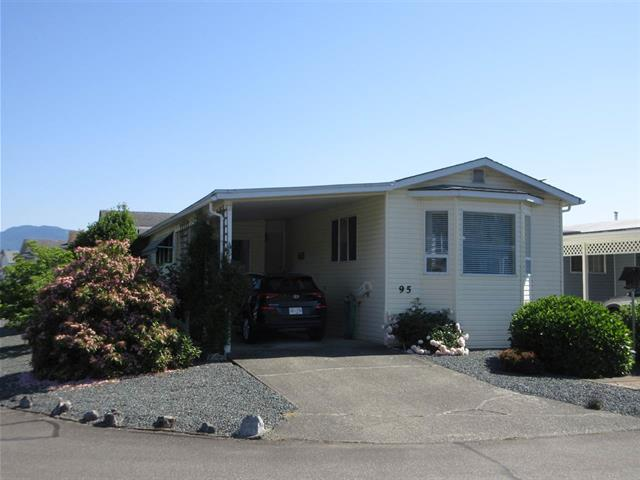 Manufactured Home for sale in Chilliwack W Young-Well, Chilliwack, Chilliwack, 95 9055 Ashwell Road, 262446396 | Realtylink.org