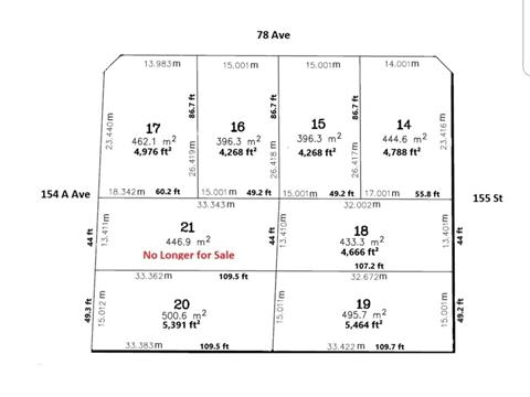 Lot for sale in Fleetwood Tynehead, Surrey, Surrey, 15488 78 Avenue, 262378220 | Realtylink.org