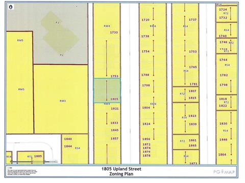 Lot for sale in Van Bow, Prince George, PG City Central, 1805 Upland Street, 262387039 | Realtylink.org