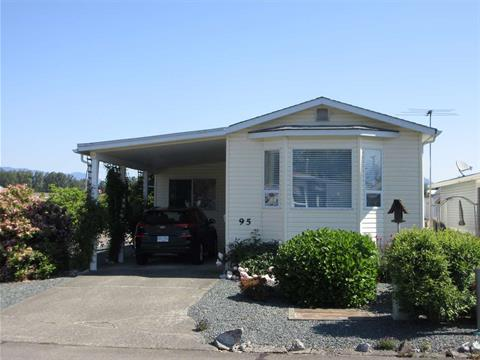 Manufactured Home for sale in Chilliwack W Young-Well, Chilliwack, Chilliwack, 95 9055 Ashwell Road, 262395102 | Realtylink.org