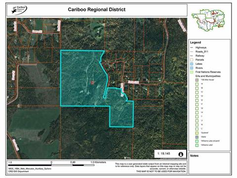 Lot for sale in Bouchie Lake, Quesnel, Quesnel, 1532 Patchett Road, 262398395   Realtylink.org