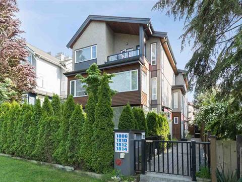 Townhouse for sale in Hastings, Vancouver, Vancouver East, 1810 E Pender Street, 262398522 | Realtylink.org