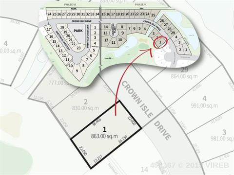 Lot for sale in Courtenay, Crown Isle, 2130 Crown Isle Drive, 456167 | Realtylink.org