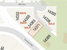 Lot for sale in Elgin Chantrell, Surrey, South Surrey White Rock, 14371 Crescent Road, 262366782 | Realtylink.org