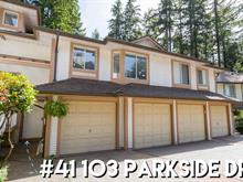 Townhouse for sale in Heritage Mountain, Port Moody, Port Moody, 41 103 Parkside Drive, 262398066   Realtylink.org