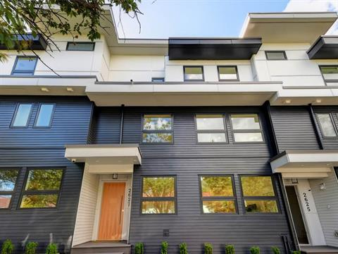 Townhouse for sale in Mount Pleasant VE, Vancouver, Vancouver East, 2627 Guelph Street, 262399929 | Realtylink.org