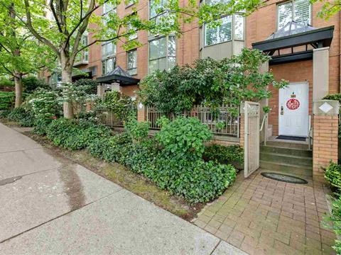 Townhouse for sale in Yaletown, Vancouver, Vancouver West, 1492 Hornby Street, 262392039 | Realtylink.org