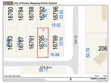 Lot for sale in Grandview Surrey, Surrey, South Surrey White Rock, 16795 20a Avenue, 262392094 | Realtylink.org