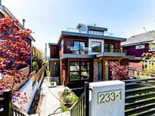 Triplex for sale in Lower Lonsdale, North Vancouver, North Vancouver, 1 233 W 5th Street, 262378205 | Realtylink.org