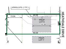 Lot for sale in Parkcrest, Burnaby, Burnaby North, Lot 6 1610 Springer Avenue, 262390303 | Realtylink.org