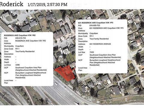 Lot for sale in Maillardville, Coquitlam, Coquitlam, 631 Roderick Court, 262383962 | Realtylink.org
