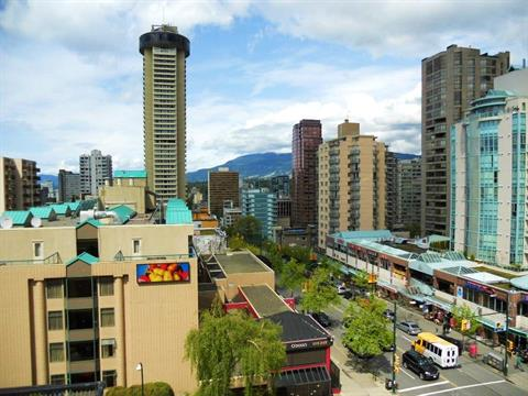 Apartment for sale in West End VW, Vancouver, Vancouver West, 806 1270 Robson Street, 262385631 | Realtylink.org