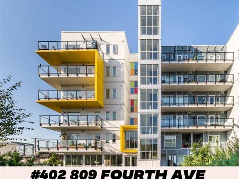 Apartment for sale in Uptown NW, New Westminster, New Westminster, 402 809 Fourth Avenue, 262425825 | Realtylink.org
