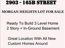 Lot for sale in Grandview Surrey, Surrey, South Surrey White Rock, 2903 165b Street, 262425916 | Realtylink.org