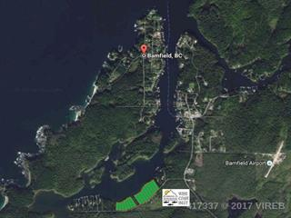 Lot for sale in Bamfield, PG City South East, Lt 13 Bamfield S Road, 417337 | Realtylink.org