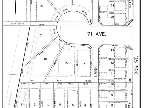 Lot for sale in Willoughby Heights, Langley, Langley, 7063 206 Street, 262431609 | Realtylink.org