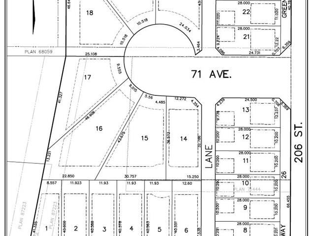 Lot for sale in Willoughby Heights, Langley, Langley, 7069 206 Street, 262431594 | Realtylink.org