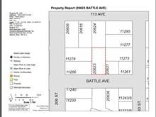 Lot for sale in Southwest Maple Ridge, Maple Ridge, Maple Ridge, 20623 Battle Avenue, 262419173 | Realtylink.org