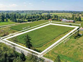 Lot for sale in Salmon River, Langley, Langley, 5ac 232 Street, 262424544   Realtylink.org