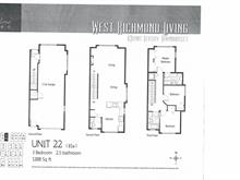 Townhouse for sale in Granville, Richmond, Richmond, 22 7168 Lynnwood Drive, 262431245 | Realtylink.org