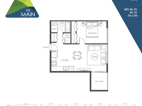 Apartment for sale in Downtown SQ, Squamish, Squamish, 506 37881 Cleveland Avenue, 262401185 | Realtylink.org