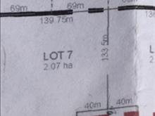 Lot for sale in Beaverley, PG Rural West, Lot 7 Heights Road, 262406300   Realtylink.org