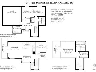 House for sale in Anmore, Port Moody, 38 3295 Sunnyside Road, 262454713 | Realtylink.org