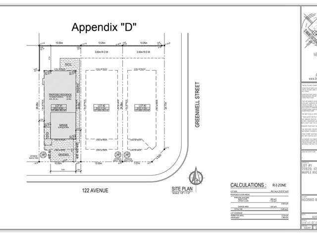 Lot for sale in East Central, Maple Ridge, Maple Ridge, 22829 122 Avenue, 262455531   Realtylink.org