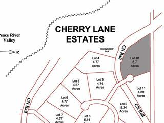 Lot for sale in Taylor, Fort St. John, Lot 10 Cherry Lane, 259586156 | Realtylink.org