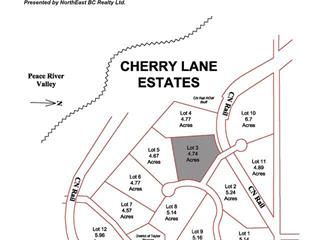 Lot for sale in Taylor, Fort St. John, Lot 3 Cherry Lane, 259586069   Realtylink.org