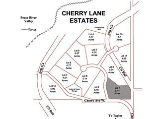 Lot for sale in Taylor, Fort St. John, Lot 1 Cherry Lane, 259586052   Realtylink.org