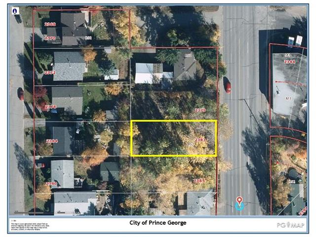 Lot for sale in South Fort George, Prince George, PG City Central, 2383 Queensway, 262431960 | Realtylink.org