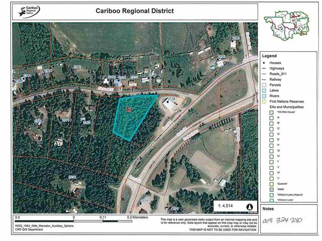 Lot for sale in Bouchie Lake, Quesnel, Quesnel, Lot A Norwood Road, 262438853 | Realtylink.org