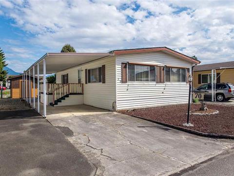 Manufactured Home for sale in Chilliwack W Young-Well, Chilliwack, Chilliwack, 70 9055 Ashwell Road, 262395349 | Realtylink.org