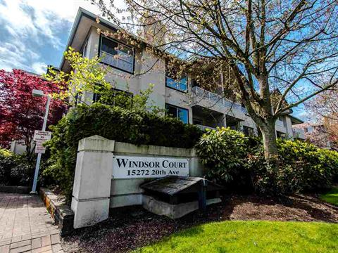 Apartment for sale in King George Corridor, Surrey, South Surrey White Rock, 312 15272 20 Avenue, 262418752 | Realtylink.org