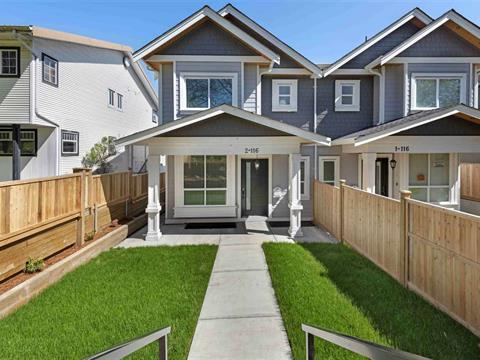 1/2 Duplex for sale in Sapperton, New Westminster, New Westminster, 2 116 Miner Street, 262418994   Realtylink.org