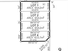 Lot for sale in North Blackburn, Prince George, PG City South East, 1349 N Blackburn Road, 262402140 | Realtylink.org