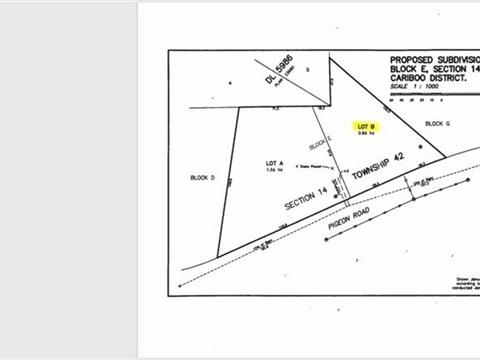 Lot for sale in 150 Mile House, Williams Lake, Williams Lake, 3177 Pigeon Road, 262415183   Realtylink.org