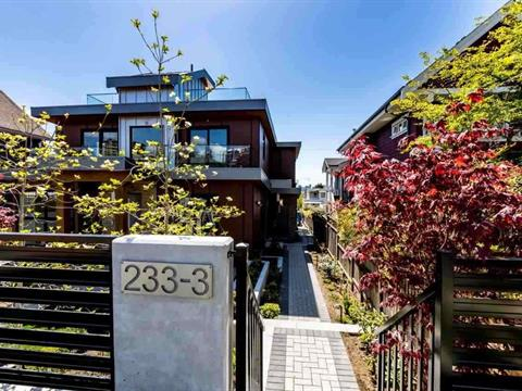 1/2 Duplex for sale in Lower Lonsdale, North Vancouver, North Vancouver, 3 233 W 5th Street, 262415073 | Realtylink.org