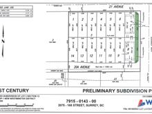 Lot for sale in Grandview Surrey, Surrey, South Surrey White Rock, 16791 20a Avenue, 262415010 | Realtylink.org