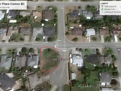 Lot for sale in Comox, Islands-Van. & Gulf, 1365 Zephyr Place, 459443 | Realtylink.org
