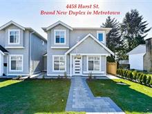 1/2 Duplex for sale in Metrotown, Burnaby, Burnaby South, 4458 Hurst Street, 262367809 | Realtylink.org